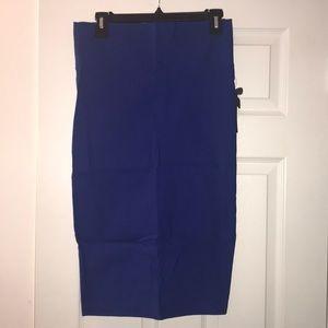 Dresses & Skirts - Blue Pencil Skirt